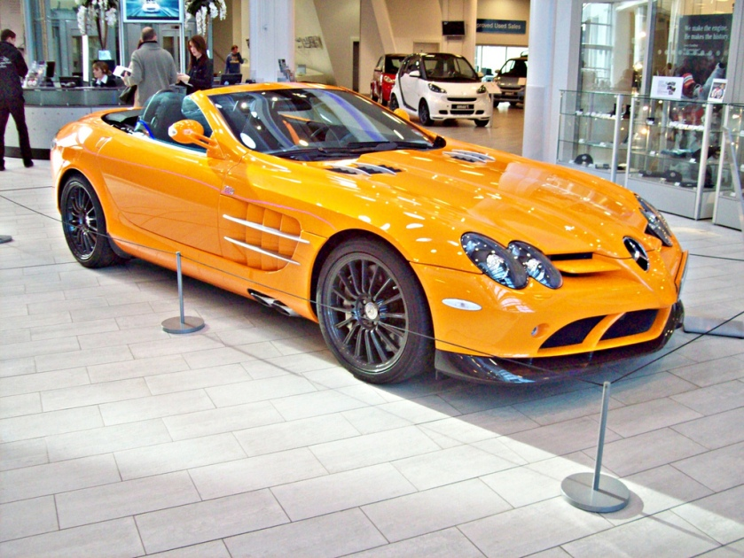 2010 Mercedes SLR McLaren 722 Roadster Engine 5439cc V8 Supercharged