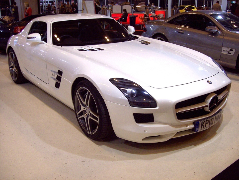 2010 Mercedes SLS AMG Engine 6208cc V8