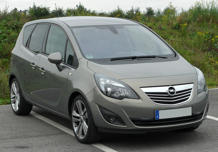 2010 Opel Meriva B 1.4 ECOTEC Innovation