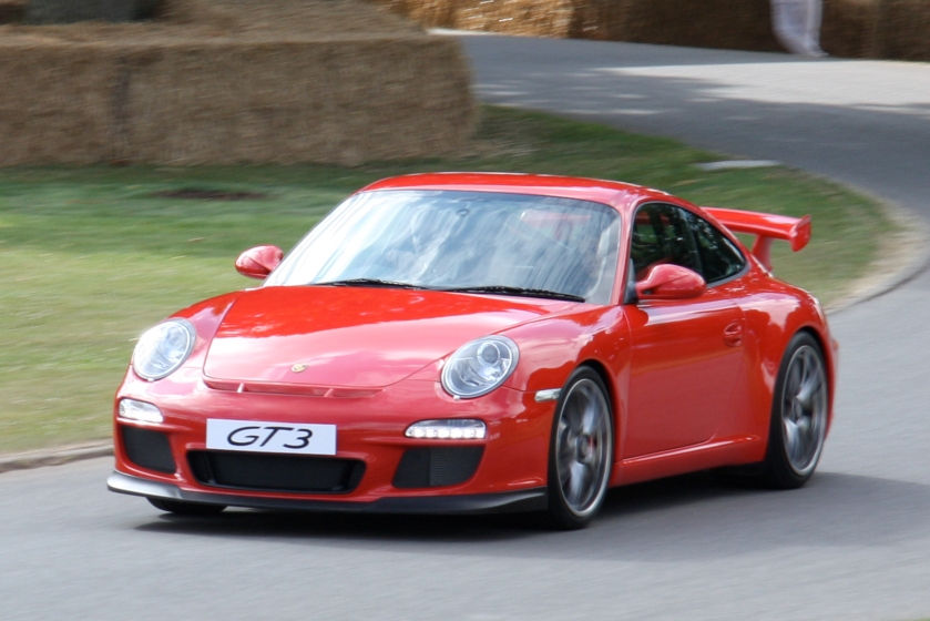 2010 Porsche 997 GT3 Goodwood