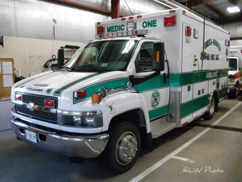 2011 Chevrolet Ambulance Medic One Eureka