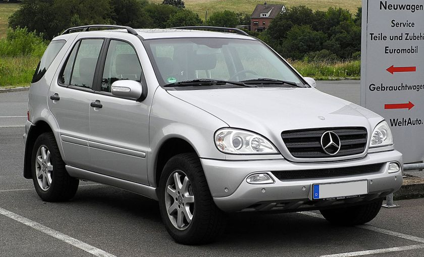 2011 Facelifted Mercedes-Benz ML 270 CDI, Germany