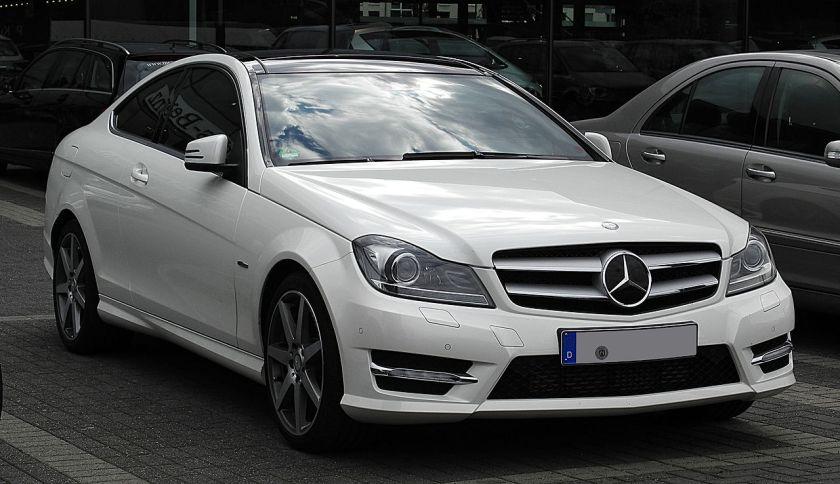 2011 Mercedes-Benz C 250 CDI BlueEFFICIENCY Coupé Edition 1 (C204)Mercedes-Benz C-Class (D-segment)