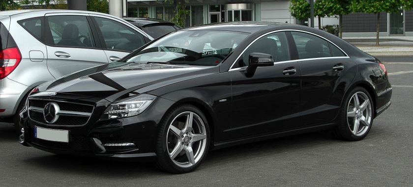 2011 Mercedes-Benz CLS 500 BlueEFFICIENCY Sport-Paket AMG (C218)Mercedes-Benz CLS-Class (4-door coupé)