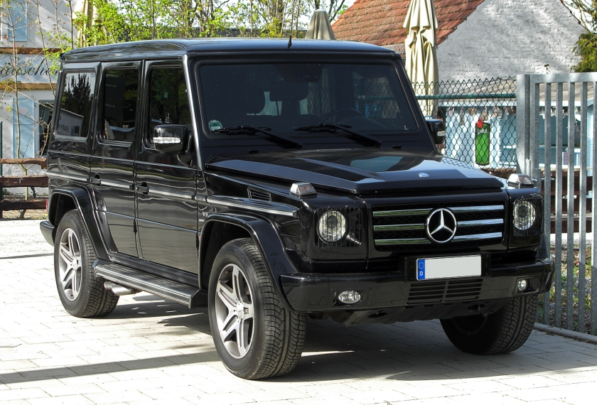 2011 Mercedes-Benz G 55 AMG(W463,2.Facelift)
