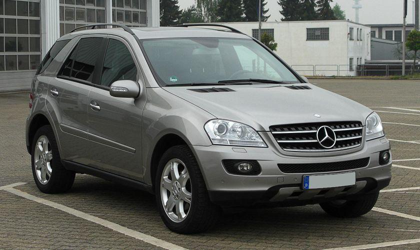 2011 Mercedes-Benz ML 320 CDI 4MATIC (W 164)