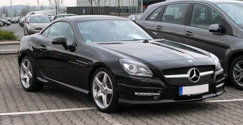 2011 Mercedes-Benz SLK 200 BlueEFFICIENCY Sport-Paket AMG (R 172)