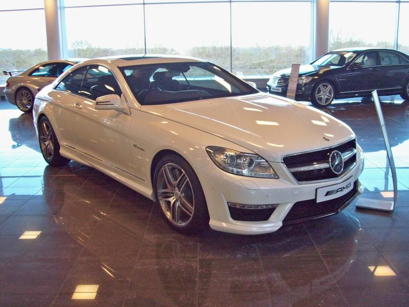 2011 Mercedes CL63 AMG Engine 5461cc