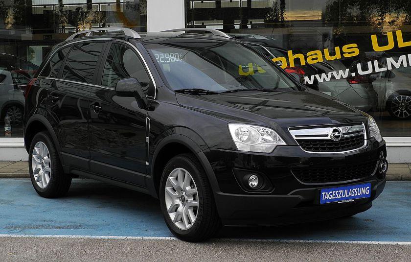 2011 Opel Antara 2.4 4x4 Design Edition (Facelift)