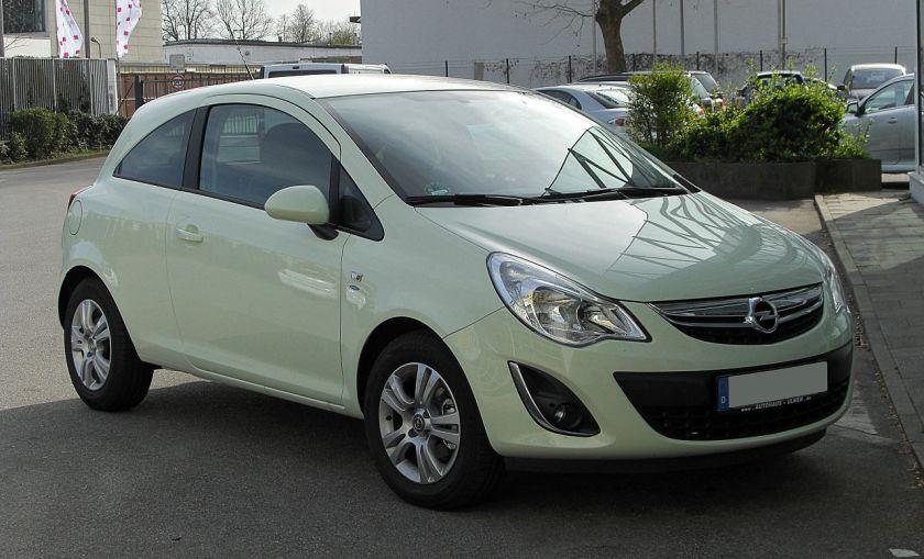 2011 Opel Corsa Satellite (D, Facelift)
