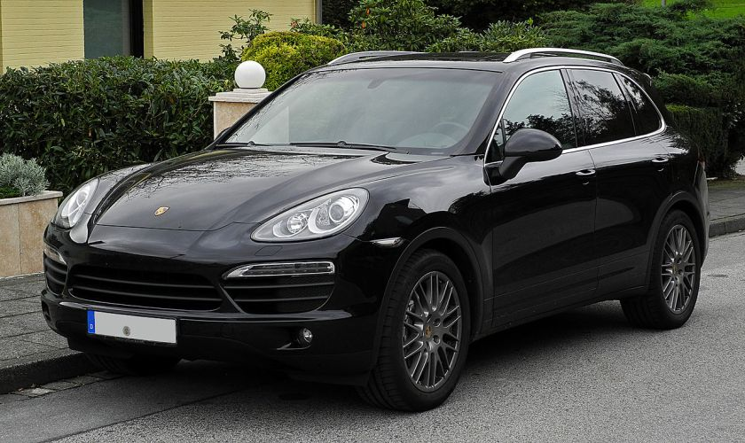 2011 Porsche Cayenne in Germany