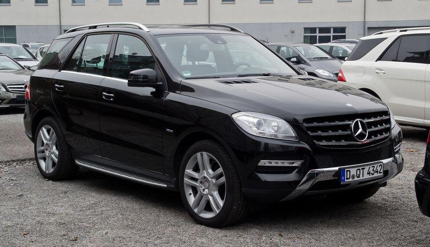 2012 Mercedes-Benz ML 350 BlueTEC (W 166)