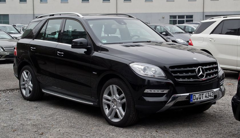 2012 Mercedes-Benz ML 350 BlueTEC(W166)Mercedes-Benz M-Class (luxury SUV)