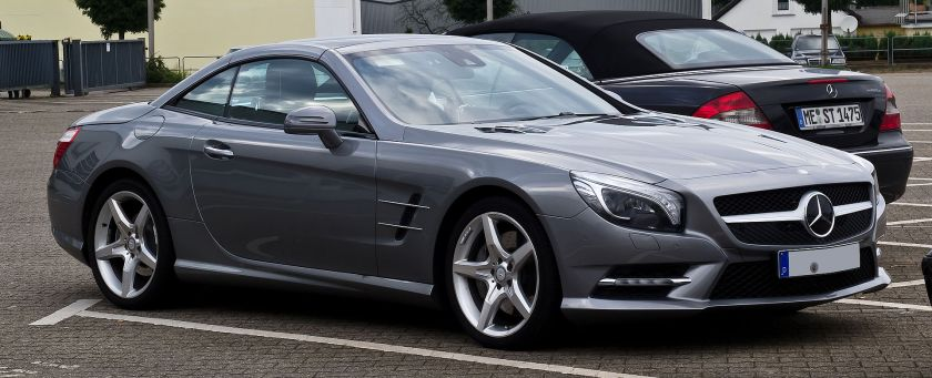 2012 Mercedes-Benz SL 500 BlueEFFICIENCY Sport-Paket AMG(R231)Mercedes-Benz SL-Class (sportscar)