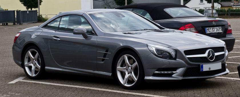2012 Mercedes-Benz SL 500 BlueEFFICIENCY Sport-Paket AMG(R231)Mercedes-Benz SL-Class (sportscar)