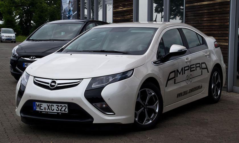 2012 Opel Ampera ePionier Edition