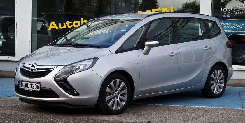 2012 Opel Zafira Tourer 1.4 Turbo ecoFLEX Edition (C)