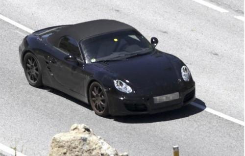 2012 Porsche Boxster Spy