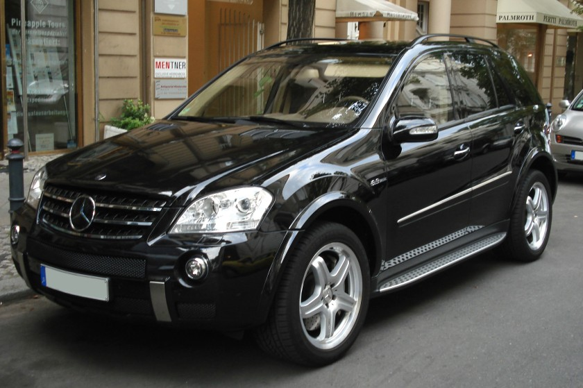2013 Mercedes Benz Black ml63amg
