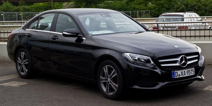 2014 Mercedes-Benz C 200 Serienausstattung (W 205)