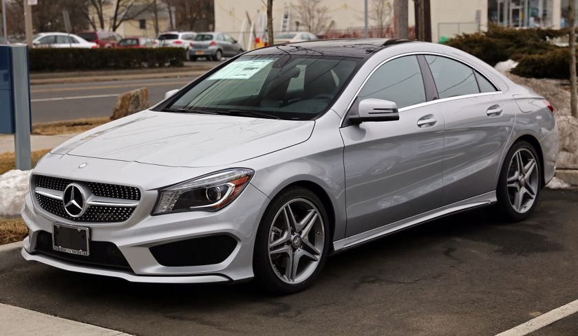 2014 Mercedes-Benz CLA250 Sport (USA).