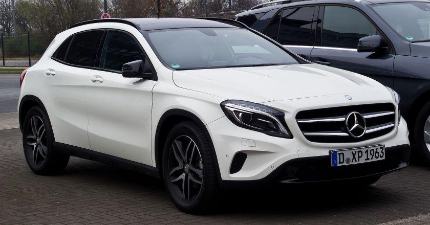 2014 Mercedes-Benz GLA-Class (X156)