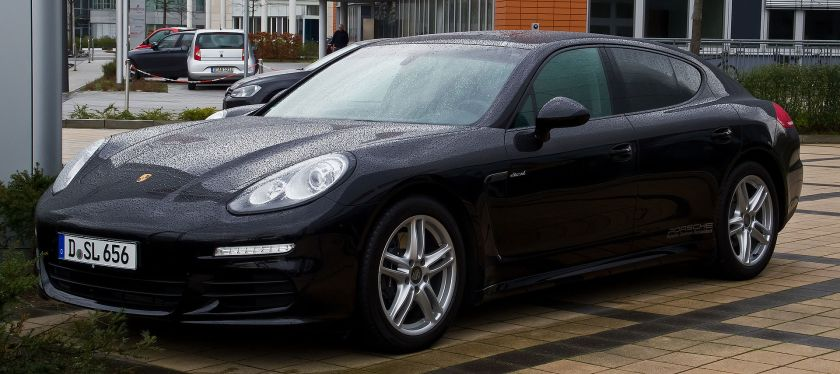 2014 Porsche Panamera in Germany