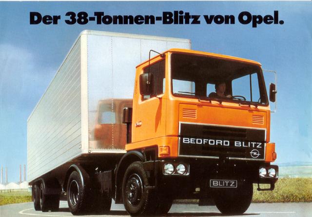 6 cylinder Opel Bedford Blitz diesel motoren