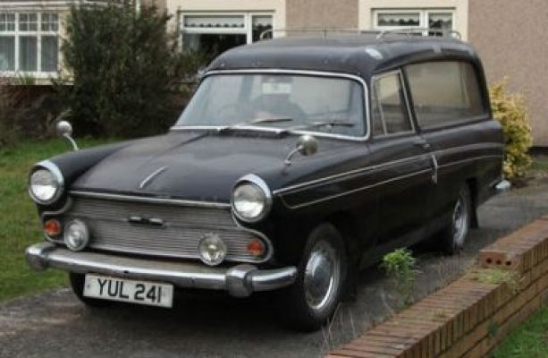 Austin A60 Cambridge Hearse YUL241