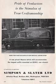 Austin A60 Hearse ad