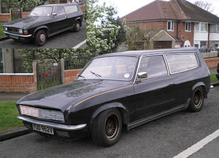 Austin Allegro estate hearse for children