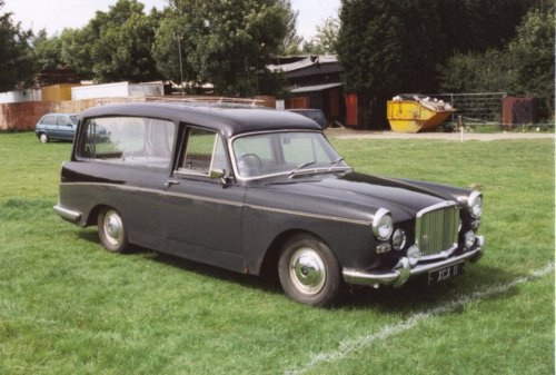 austin cambridge hearse