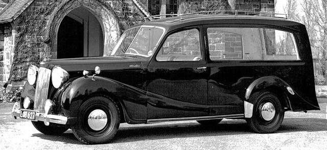 Austin Sheerline hearse