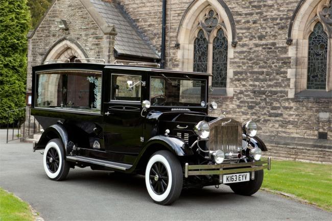(austin) vintage hearse