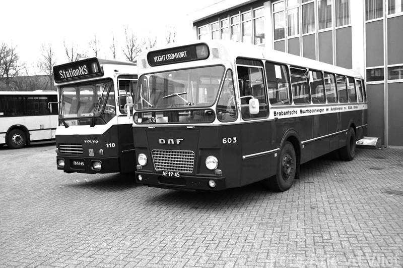 bba sva Volvo 110 en daf 603