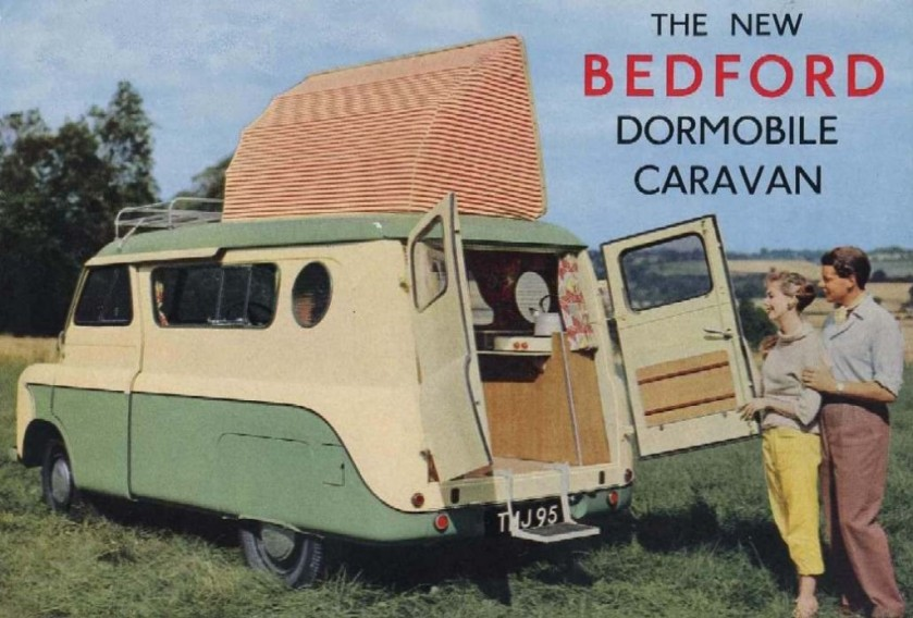Bedford CA Dormobile a