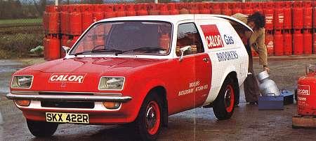 Bedford Chevanne (afgeleid van Vauxhall Chevette)