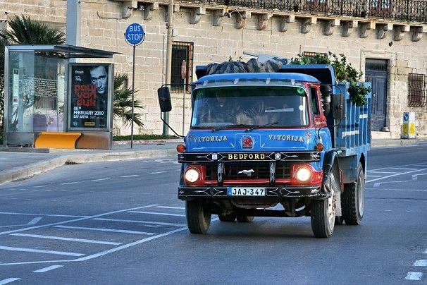 Bedford JAJ Alter-Lastwagen 606