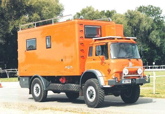 Bedford MJ camper
