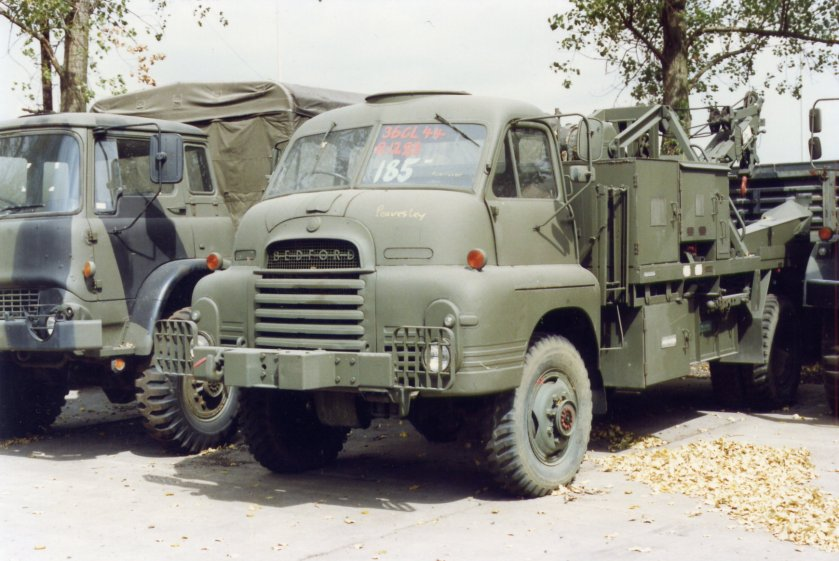 Bedford RL 3Ton 4x4 Wrecker