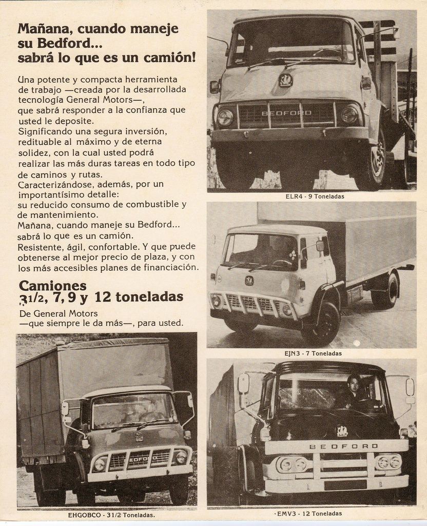 Bedfords sold in Uruguay