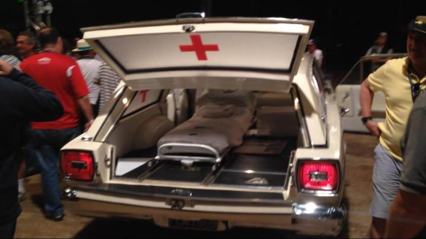 Brazilian Ford Galaxie Ambulance