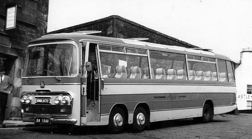 Bussen Bedford Val with Plaxton body 1965