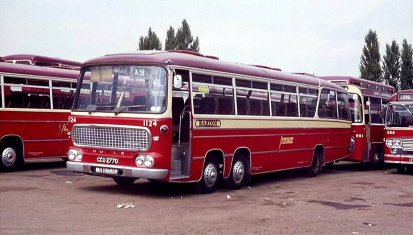 Bussen Bedford VAL14 with a Duple Vega Major body 1966