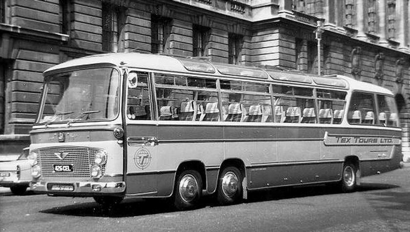 Bussen Bedford VAL14 with Duple Vega Major body of 1964.