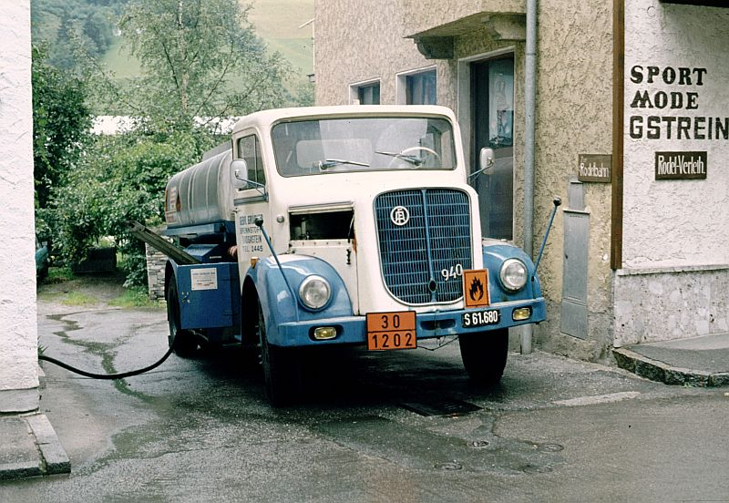 ÖAF 940 Heizöltankwagen