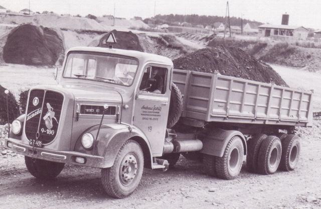 ÖAF Tornado Truck