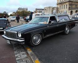 Chevelle Malibu Classic SW was converted into a hearse