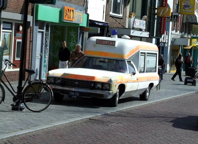 Chevrolet Impala Visser ambulance