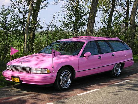 Chevrolet lijkwagen rose 2
